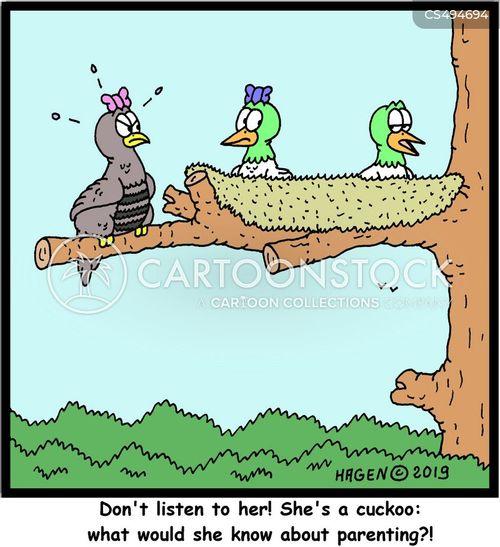 parenting advice cartoon