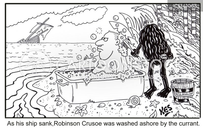 daniel defoe cartoon