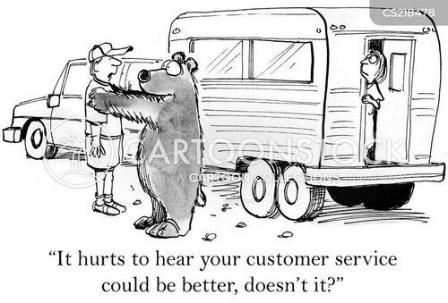 critical feedback cartoon