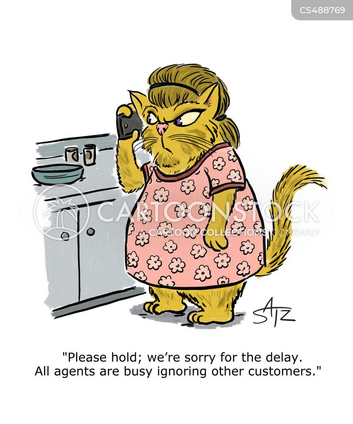 customer experiences cartoon