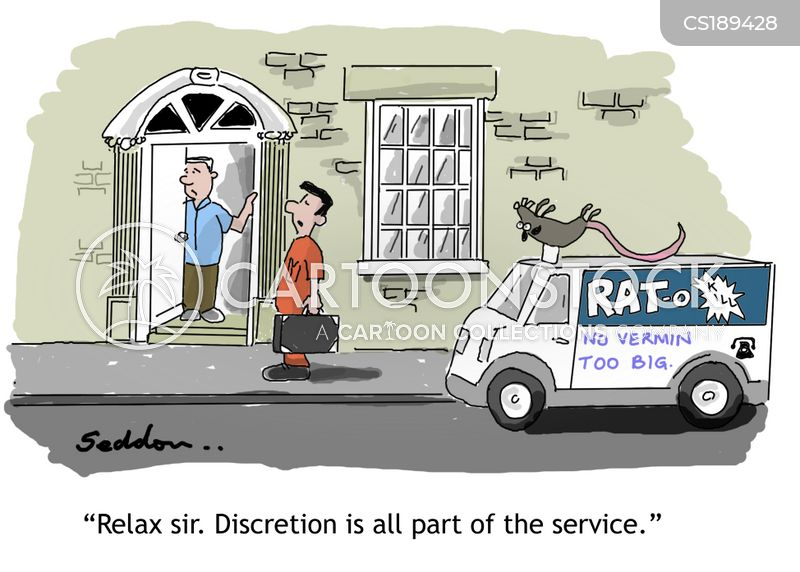 discretion cartoon
