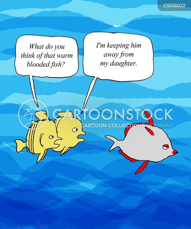 Warm blooded cartoons and comics funny pictures from for Warm blooded fish