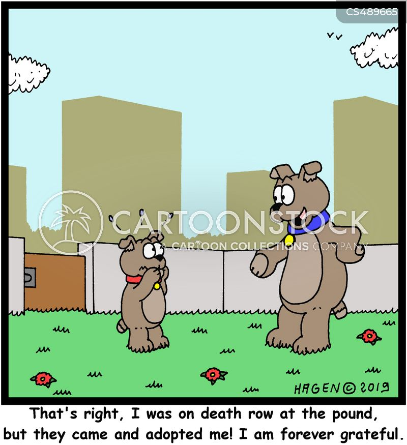 death rows cartoon