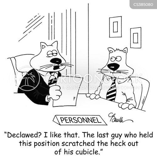 declaw cartoon