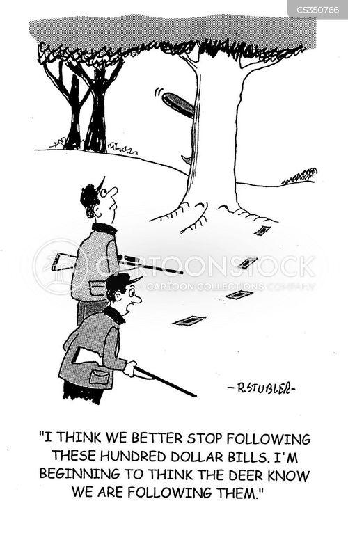 deer hunt cartoon
