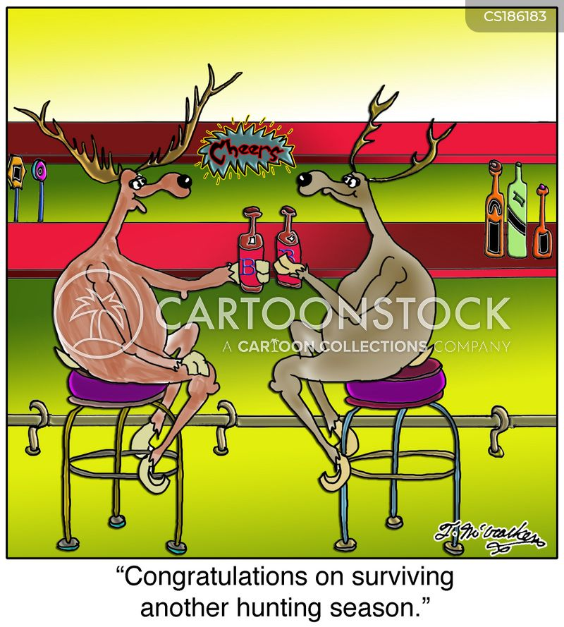 elks cartoon