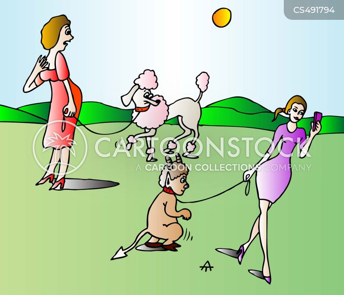 satyrs cartoon