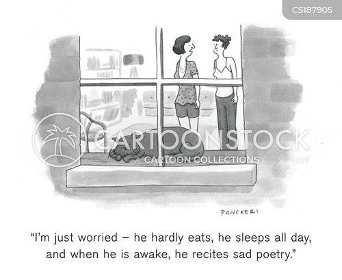 angst cartoon