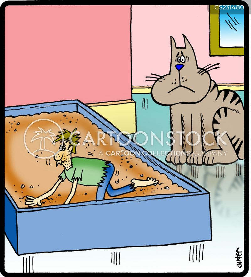 Litterbox cartoons, Litterbox cartoon, funny, Litterbox picture, Litterbox pictures, Litterbox image, Litterbox images, Litterbox illustration, Litterbox illustrations