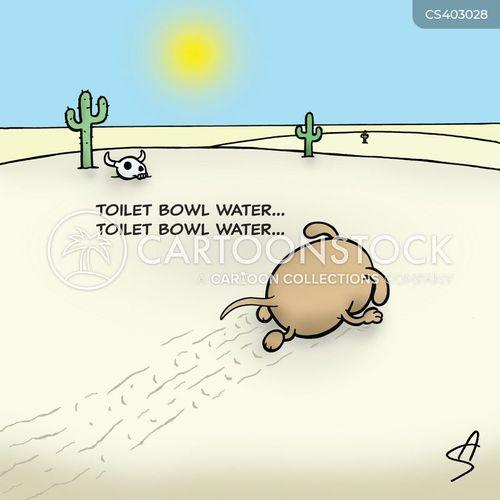 toilet bowls cartoon