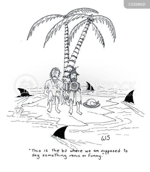 getting rescued cartoon