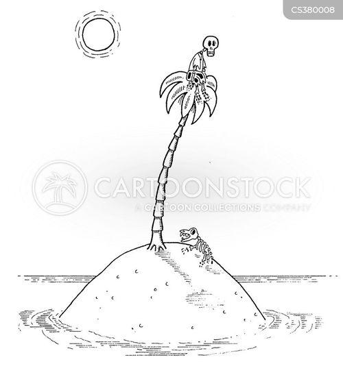 island paradise cartoon
