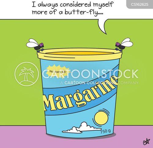 margarine cartoon
