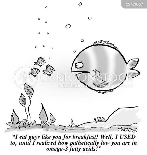 fatty acids cartoon