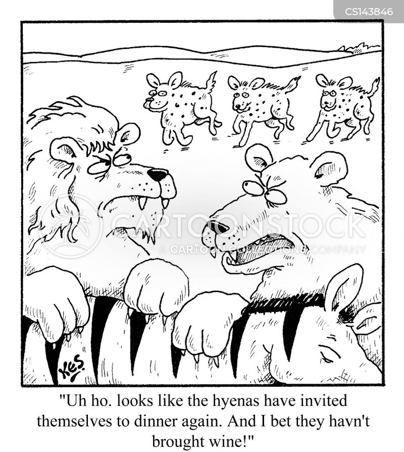 uninvited guest cartoon