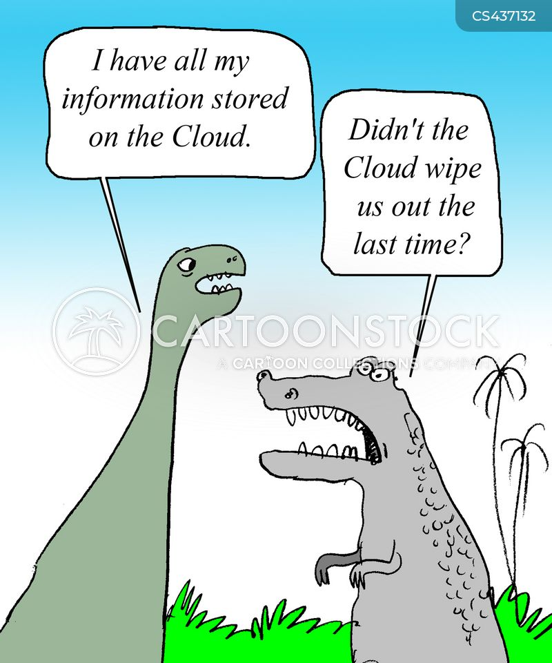 cloud networking cartoon