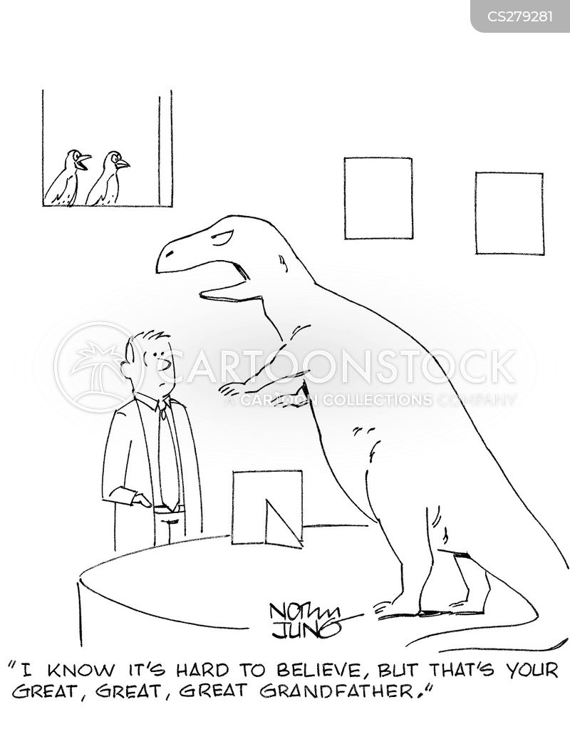 natural history museums cartoon