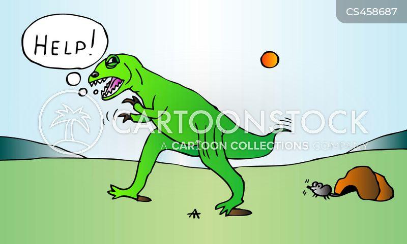 tyrannosaurs cartoon
