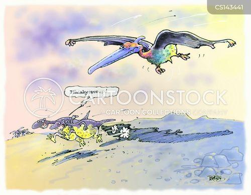 pterosaurs cartoon