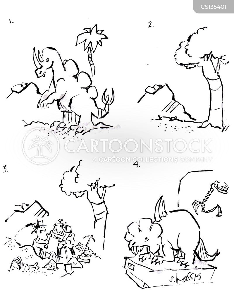 Can you use carbon dating of dinosaur bones cartoon