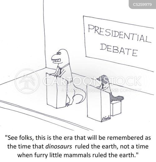cretaceous cartoon
