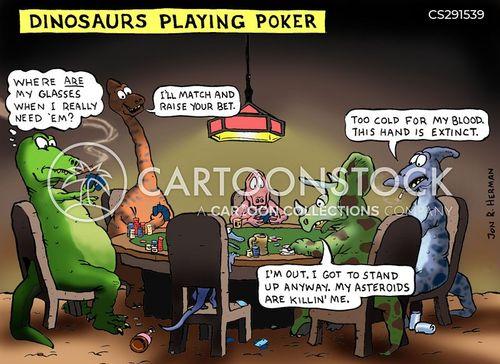 dogs playing poker cartoon