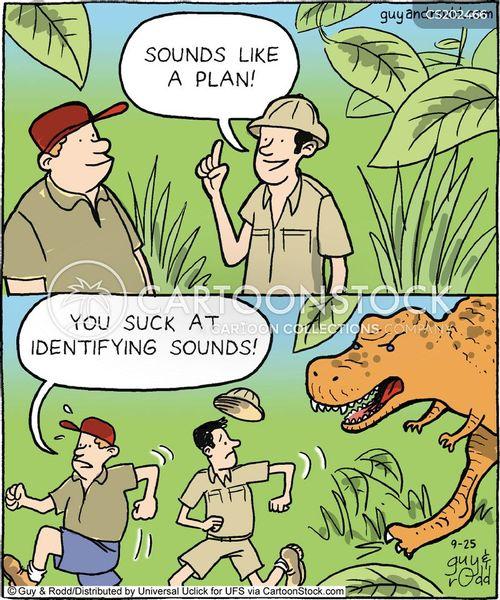 dangerous animal cartoon