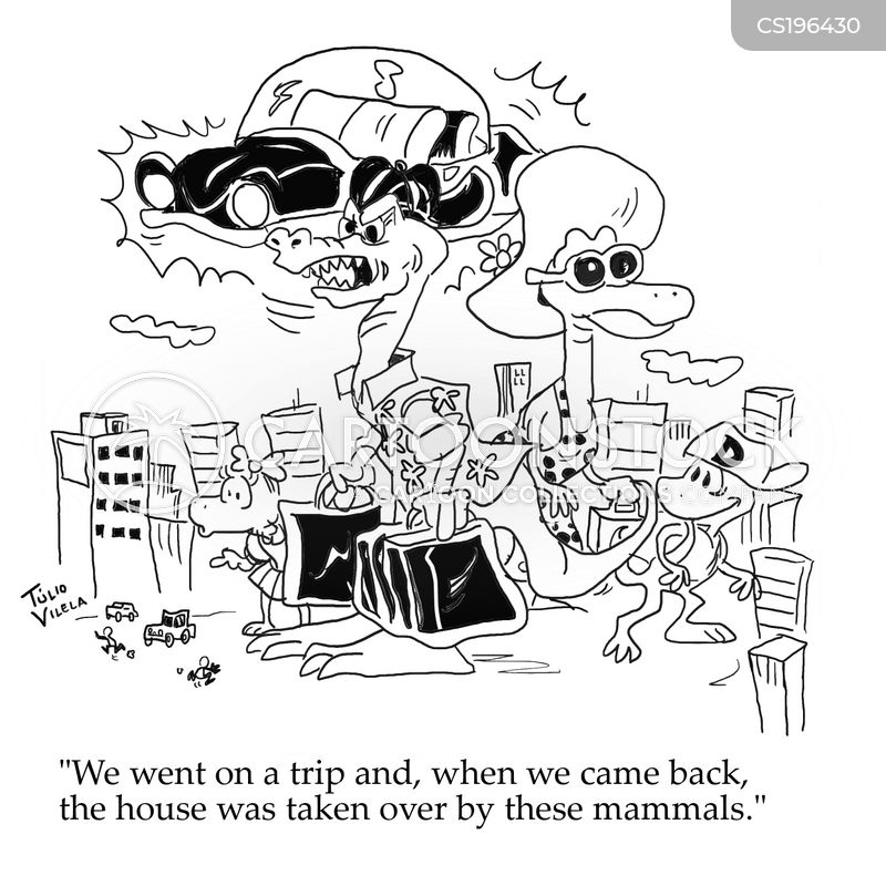 mammals cartoon