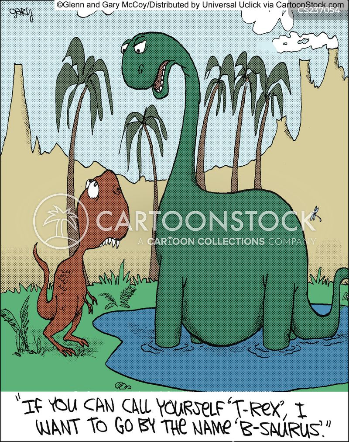 T Rex Cartoon Funny