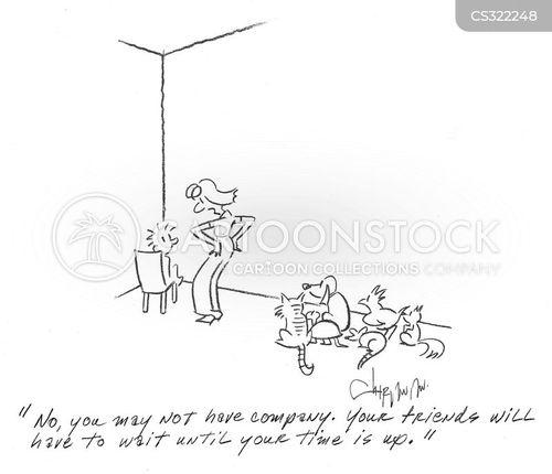 naughty steps cartoon