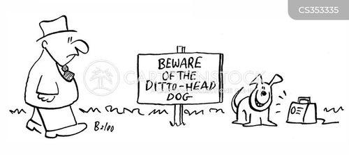dittoheads cartoon