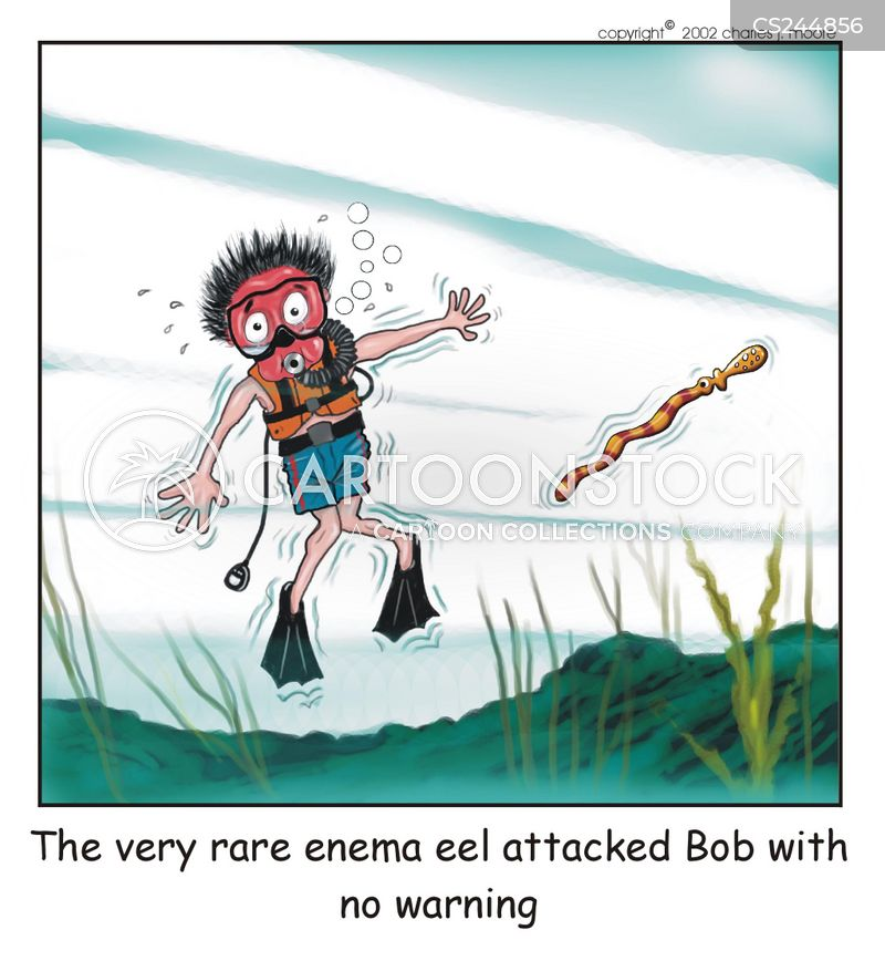 enemas cartoon