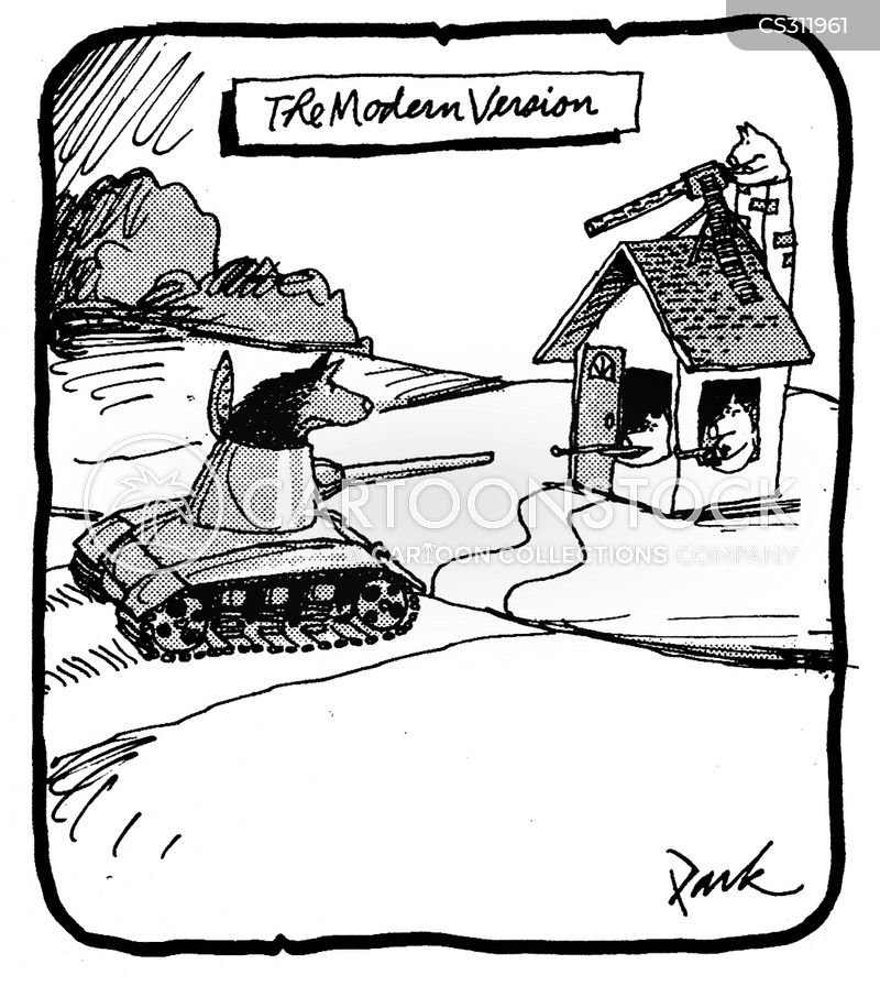 tank war cartoon