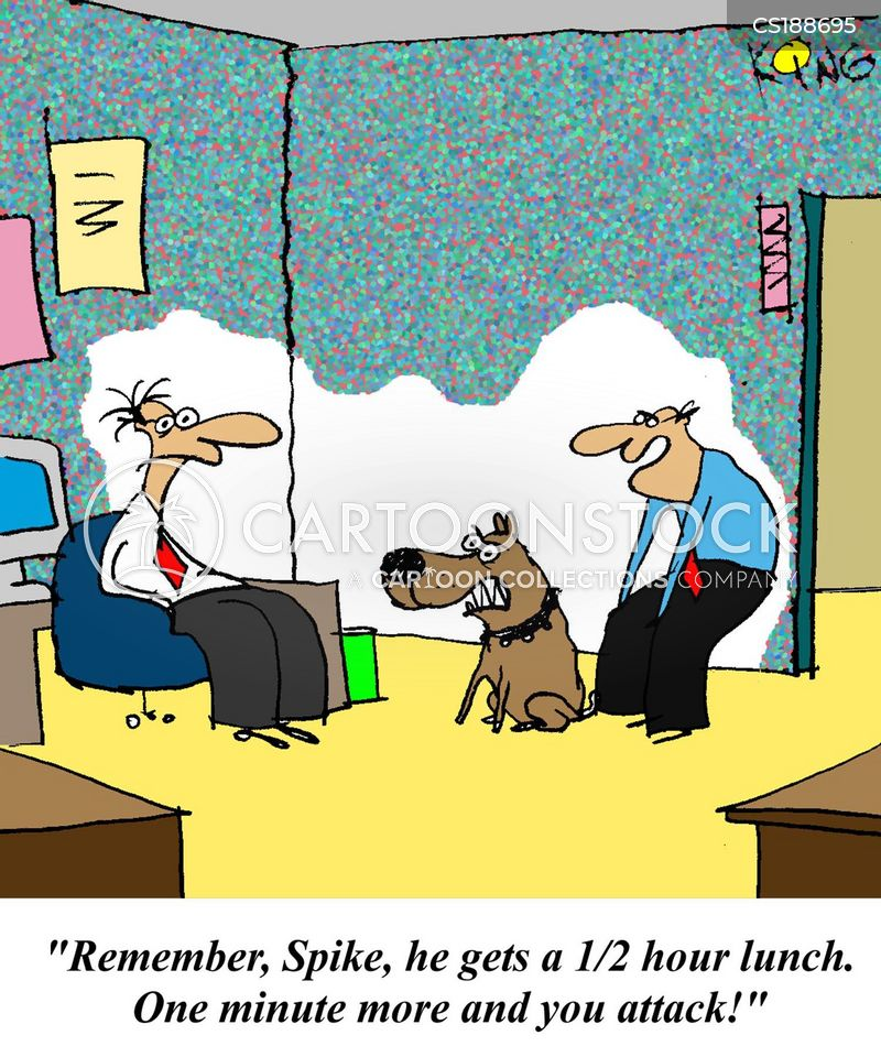 lunch hour cartoon