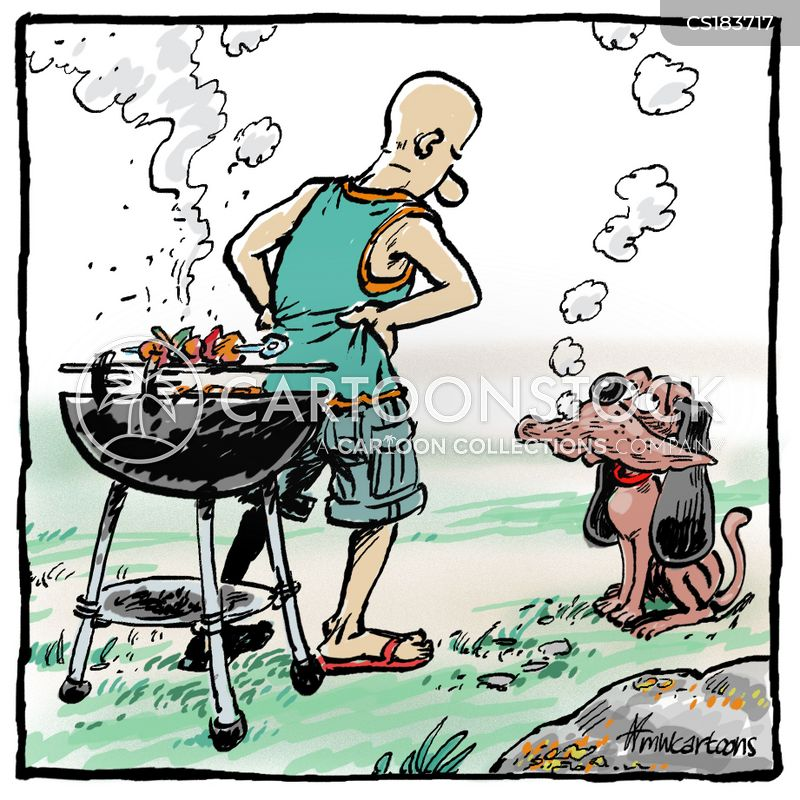 bbq cartoons and comics funny pictures from cartoonstock