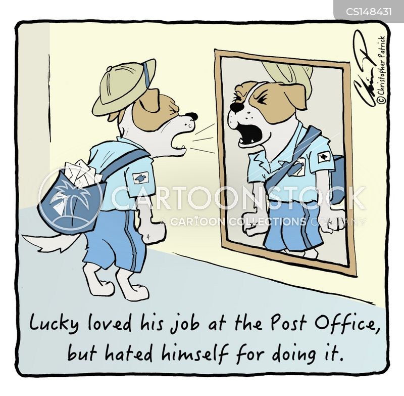 Postal Carrier Cartoons And Comics Funny Pictures From
