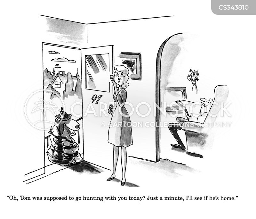 calling round cartoon