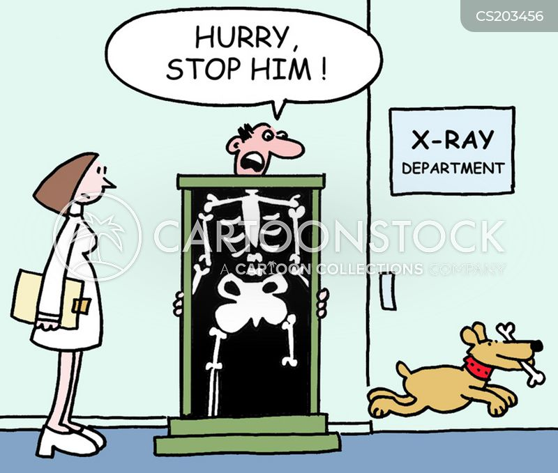 x-ray machine cartoon