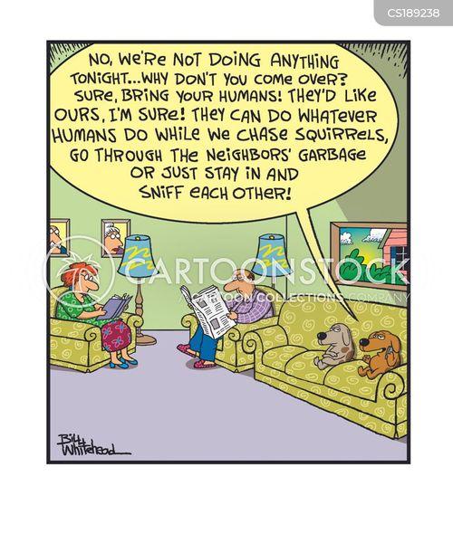 get-togethers cartoon
