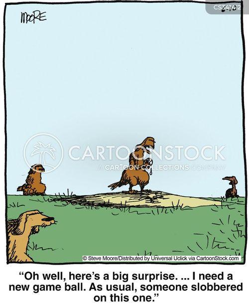 dribbles cartoon