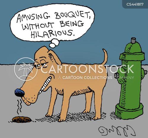 pooping cartoon