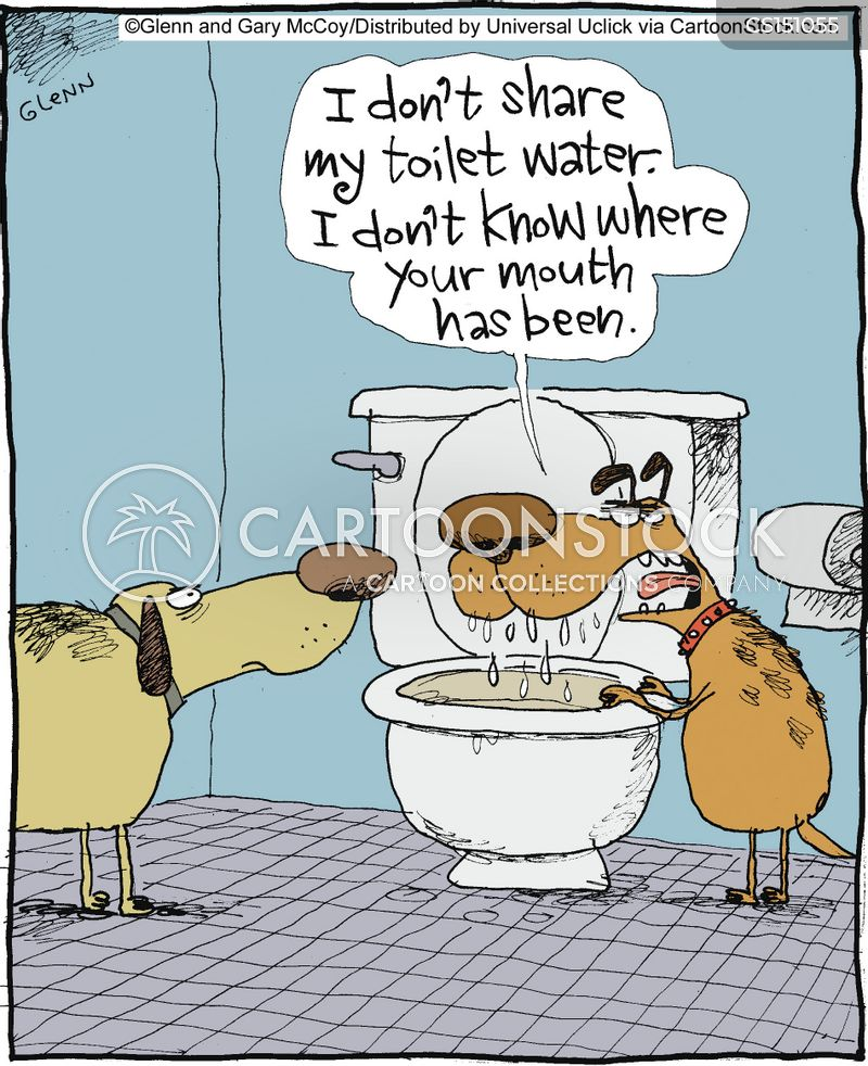 hygiene cartoon