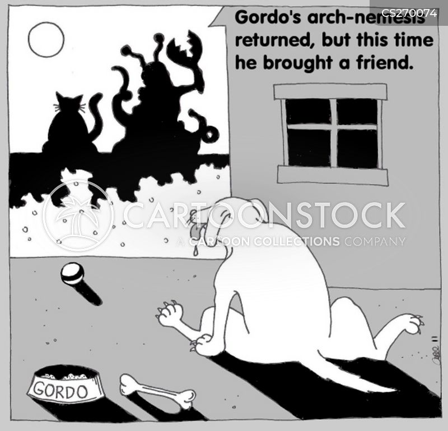 feuds cartoon