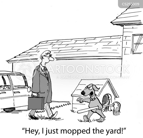mop cartoon