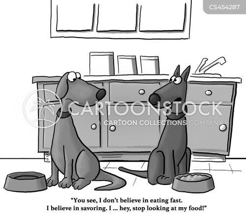 savouring cartoon
