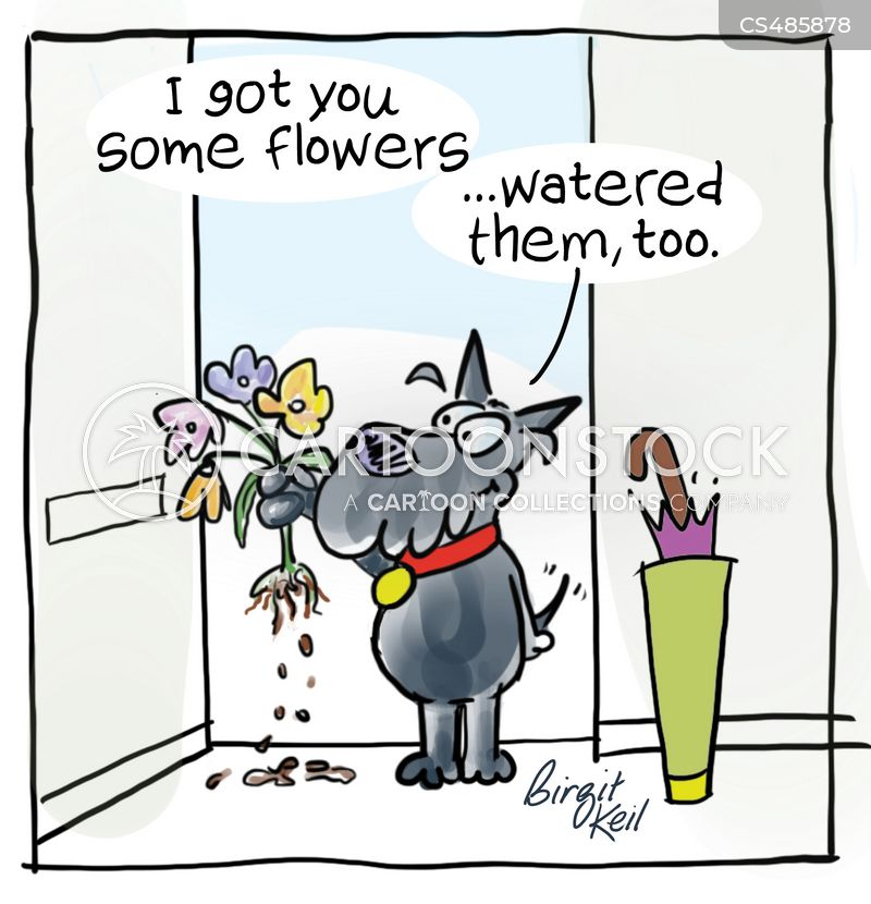 wildflower cartoon