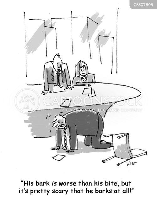 barkers cartoon