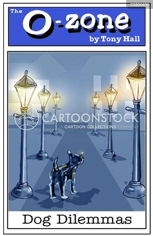 lamp posts cartoon