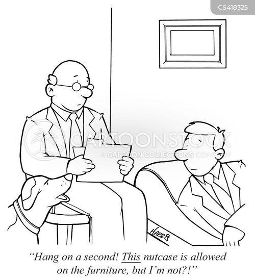 nutcase cartoon