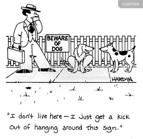 thrilling cartoon
